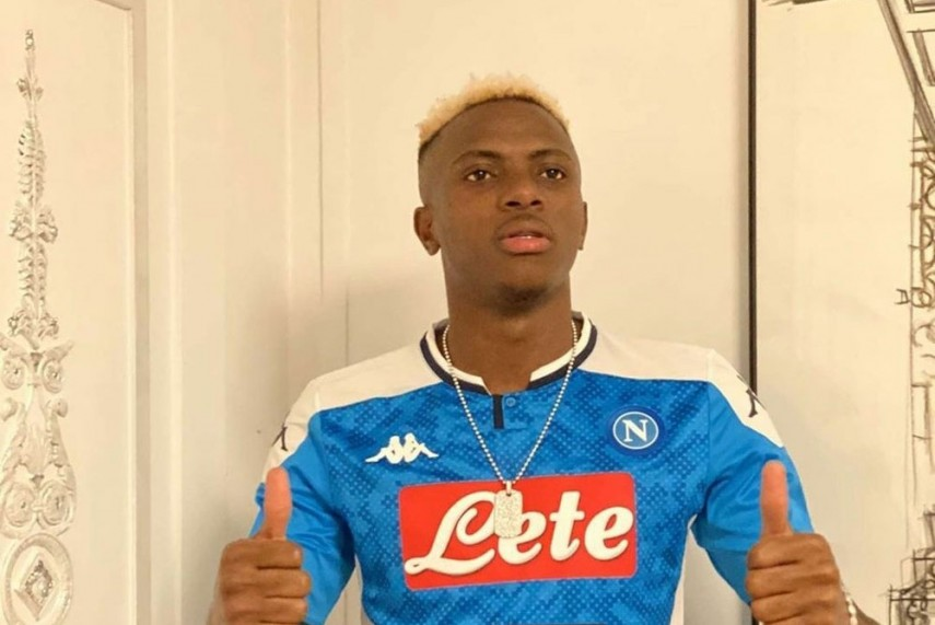 I can't wait to put on Napoli's iconic jersey, Says Osimhen