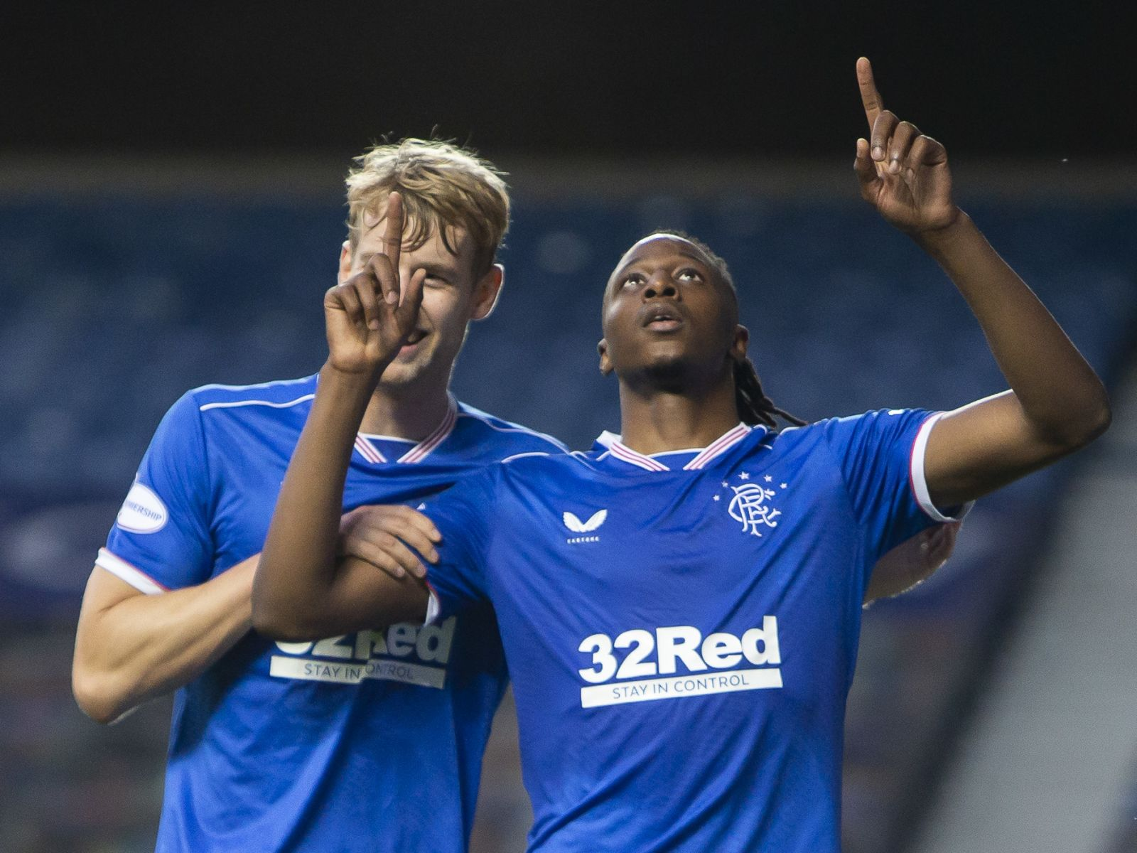 Joe Aribo, Balogun savor Rangers early season form