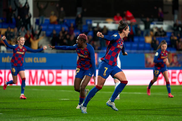 Oshoala scores again to lead Barcelona to victory over Montpelier