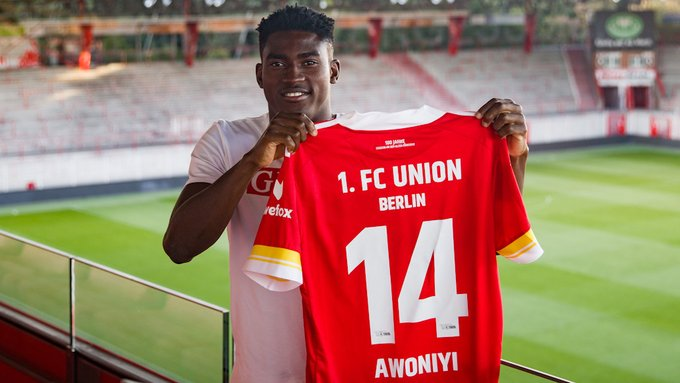 Taiwo Awoniyi vows to help Union Berlin stay in the Bundesliga