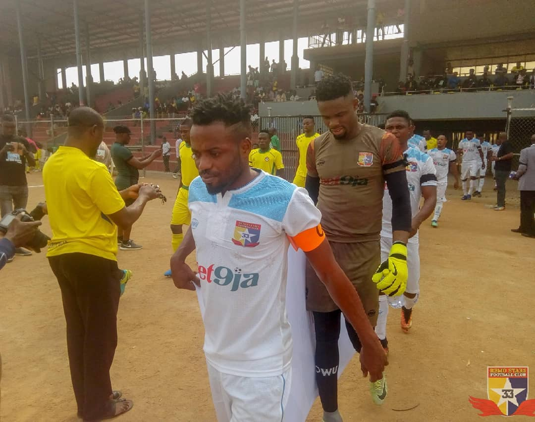 Remo Stars Captain Saheed Lasisi leaves club on mutual consent