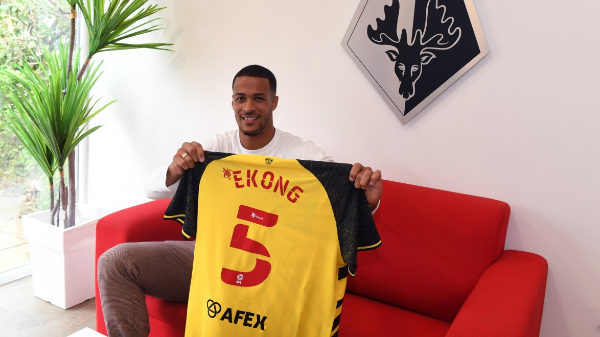 Ekong determined to help Watford return to premier league
