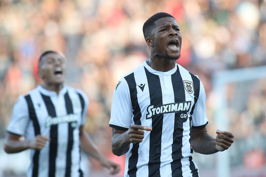 Akpom and Esiti one step away from making history with PAOK Thessaloniki