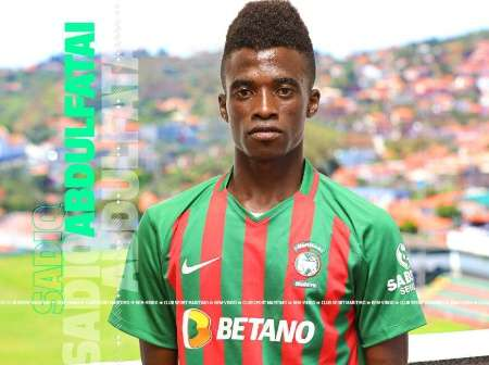 19 years old wonderkid Sadiq Abdulfatai pens five year deal with C. S Marítimo