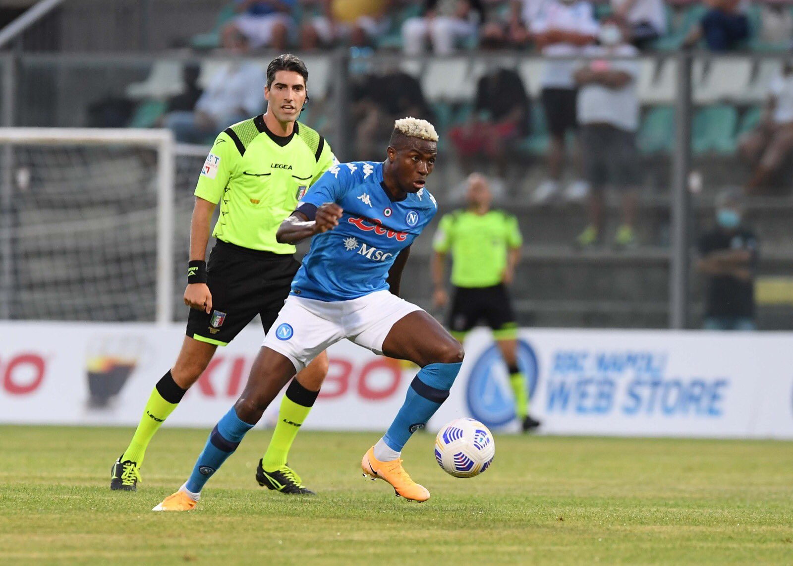 Osimhen happy with life in Napoli after bagging another Pre-season hat-trick