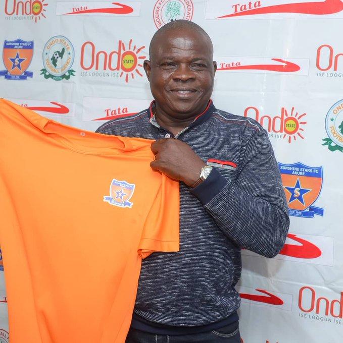 Sunshine Stars President Akinyemi pledges to support Ogunbote