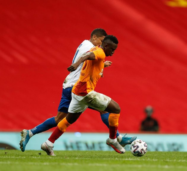 Etebo stars in first European game for Galatasaray