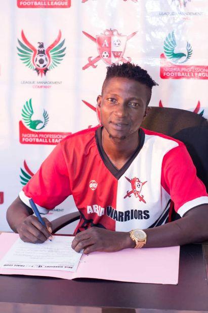 It's a dream come true to join Abia Warriors – Harrison Ibukun