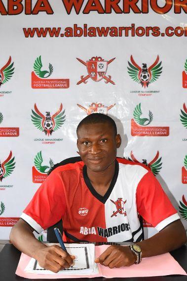Former NPFL top scorer Godwin Obaje joins Abia Warriors