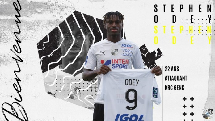 Odey joins French second division side SC Amiens