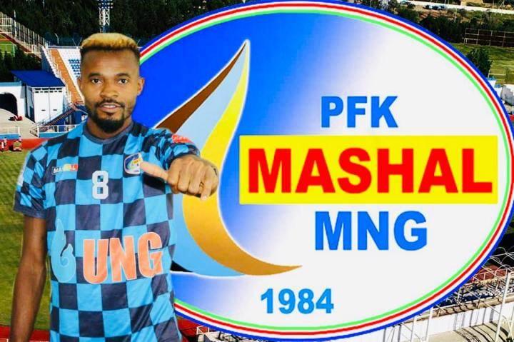 Michael Ibe joins Uzbekistan's Fc Mashal