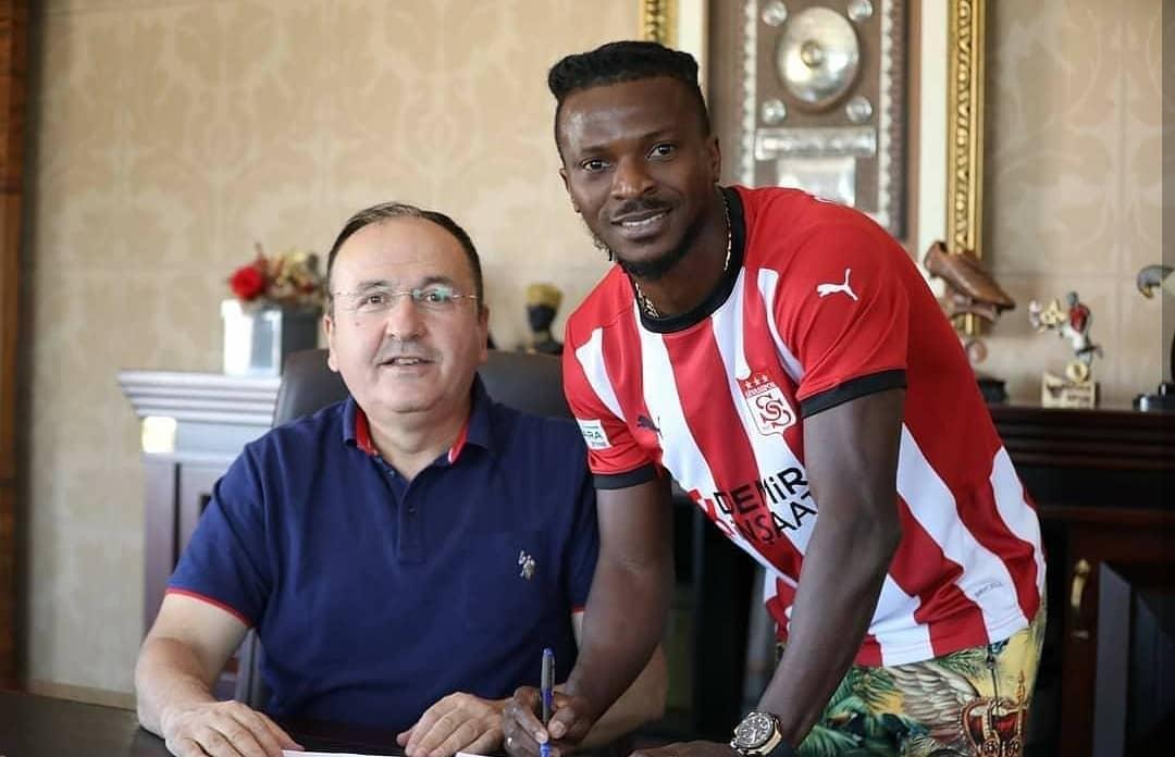 Kayode Olarewaju completes loan move to Turkish side Sivasspor