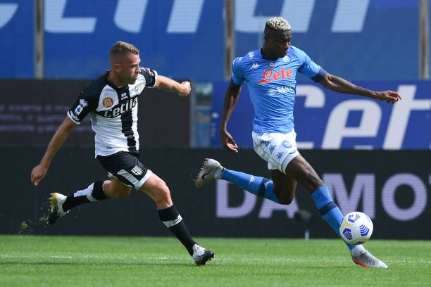 Osimhen reminds me of Cavani, Says Insigne