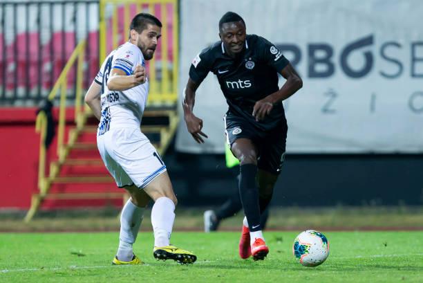 Sadiq Umar bags sixth goal of the season for Partizan Belgrade