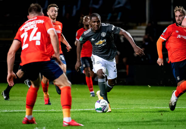 Ighalo failed to score as Manchester United beat Luton town in Carabao cup