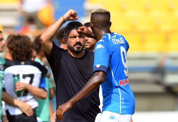 Osimhen has the mind of a 40 year old man, says Gattuso