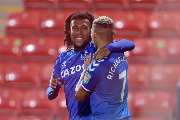 Alex Iwobi makes impressive start to his season for Everton