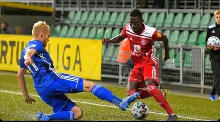 Abubakar Ghali makes Slovakian team of the week for the second time