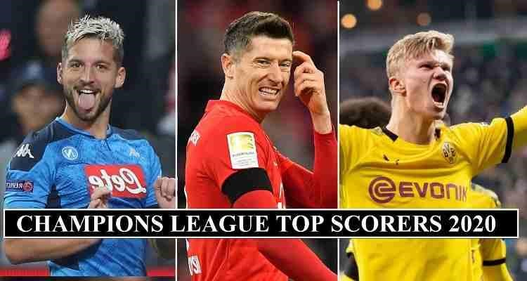 Who Made The List of Football Top Scorer 2020?