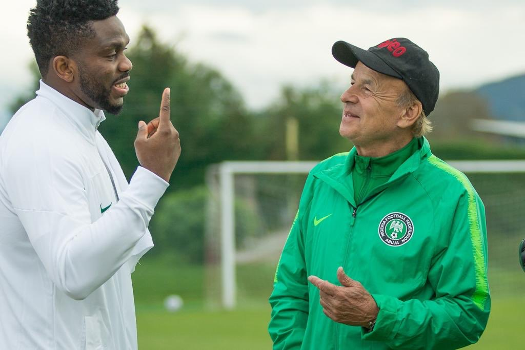 Rohr Satisfied With Eagles' Performance In Ties against Algeria, and Tunisia
