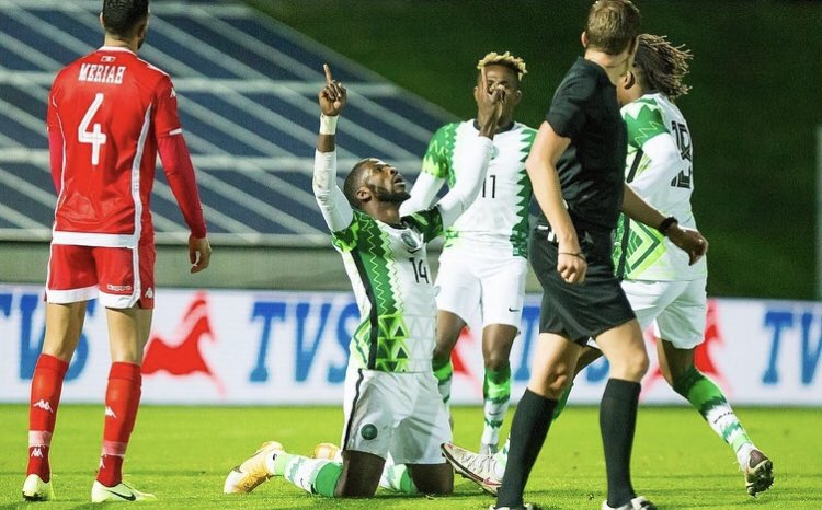 Ugbade hopes to work with Iheanacho, Ndidi, others in the Super Eagles