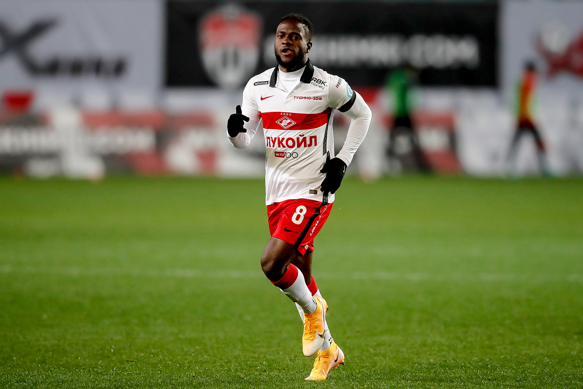 Moses stars on his Spartak Moscow debut