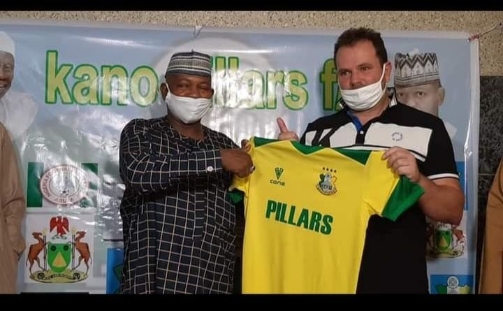 Kano Pillars unveils new technical adviser, Emmanuel Soccoia