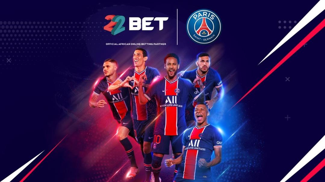 22BET partners with Paris Saint-Germain to increase reach across Africa