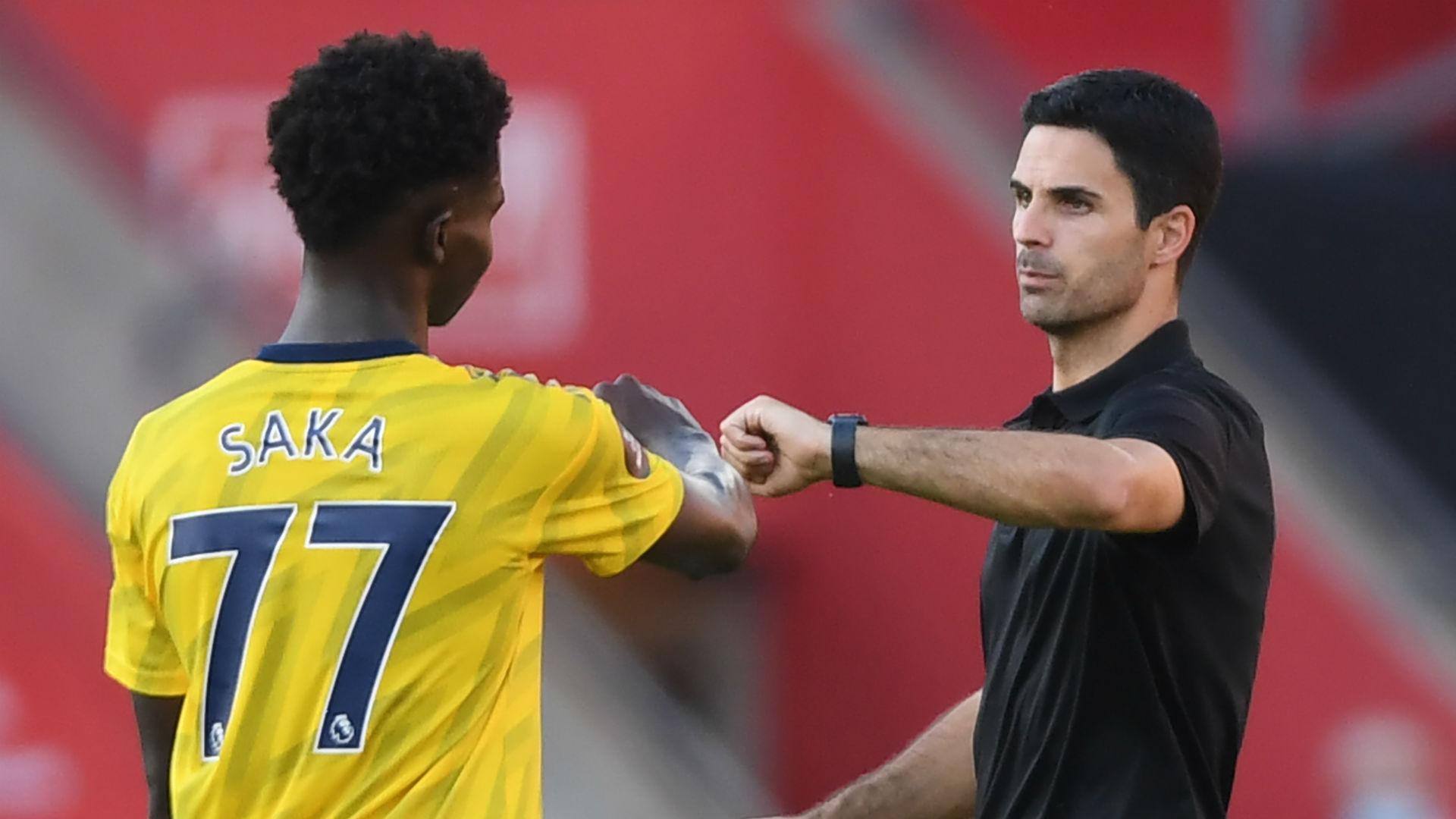 Arteta backs Saka's England invitation
