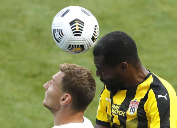 Bryan Idowu bags second goal of the season for FK Khimki