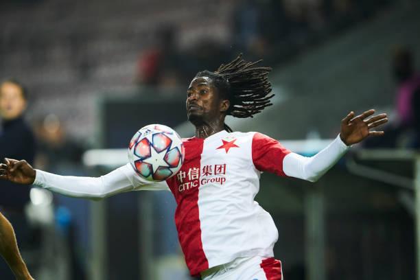 Olayinka's goal hands Slavia Prague first Europa League win
