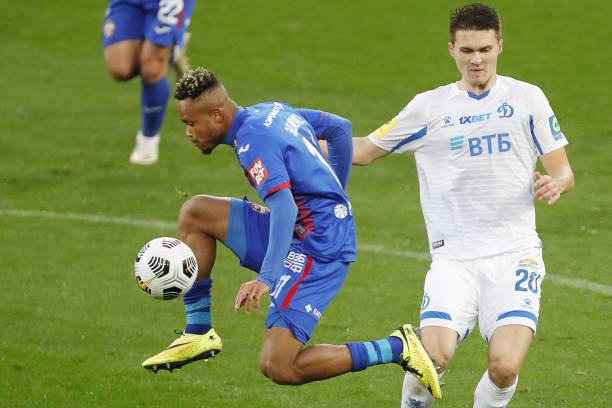 Chidera Ejuke scores first derby goal in Russia