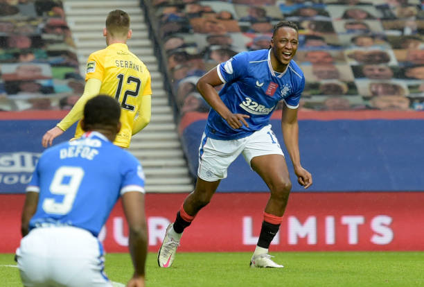 Balogun, Aribo help Rangers maintain 100% record in Europa league