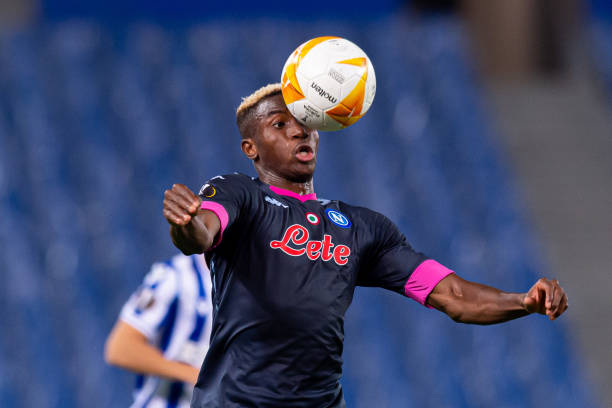 Osimhen receive first career red card in Napoli's win over Real Sociedad