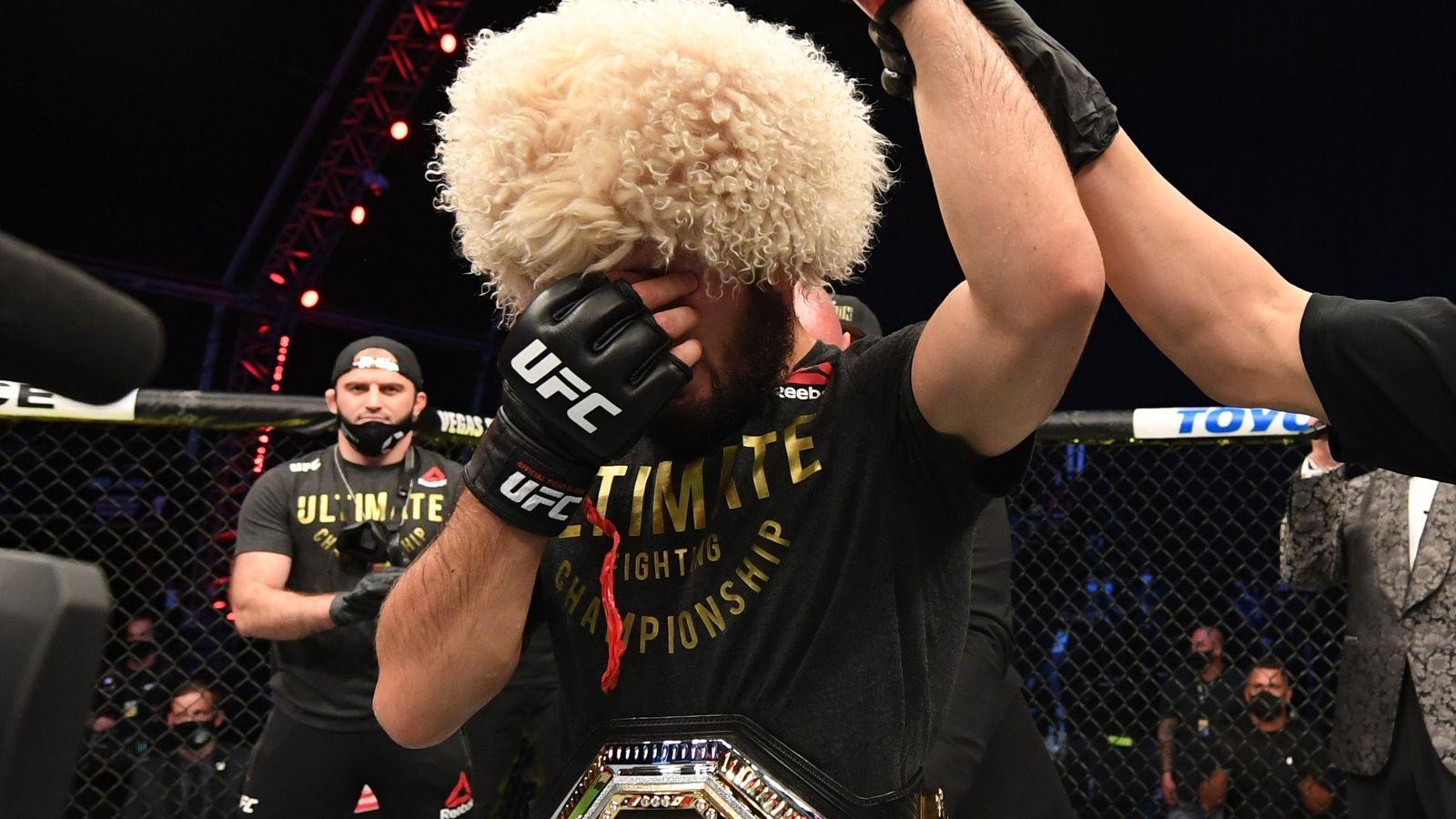 UFC254: Khabib Nurmagomedov retires after beating Justin Gaethje