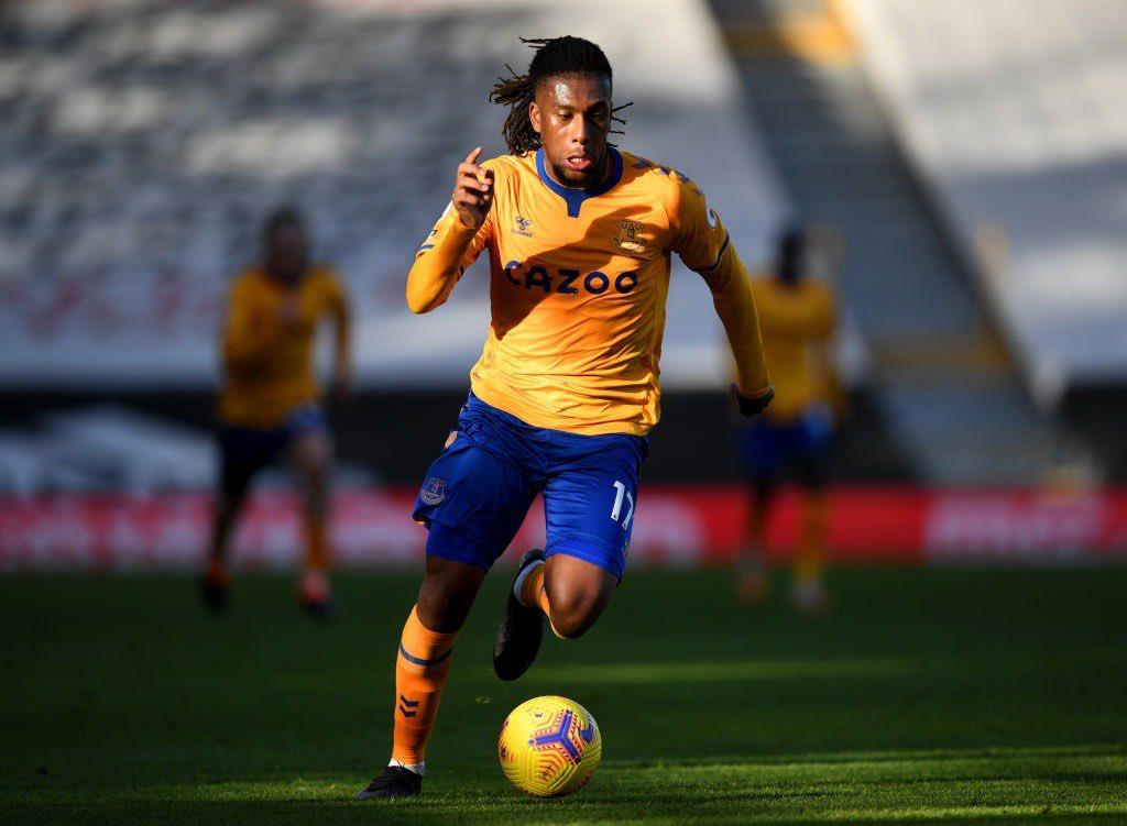 Iwobi stars for Everton at wing back position against Fulham