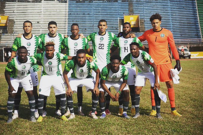 Super Eagles touchdown Abuja after Narrow Escape from Freetown