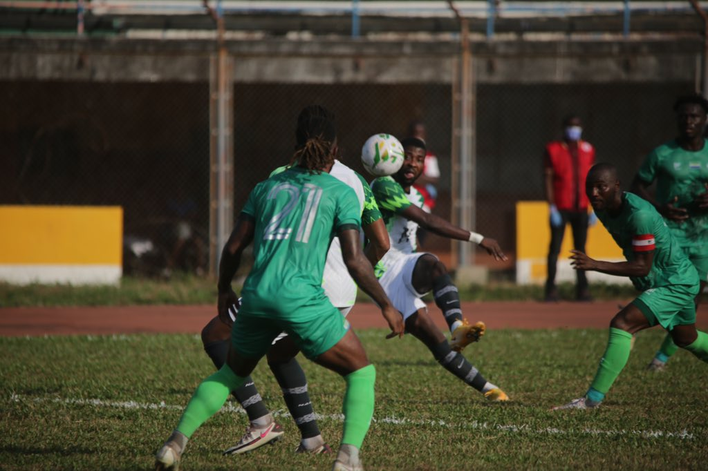 Aghahowa blasts Freetown pitch after tough draw against Sierra Leone