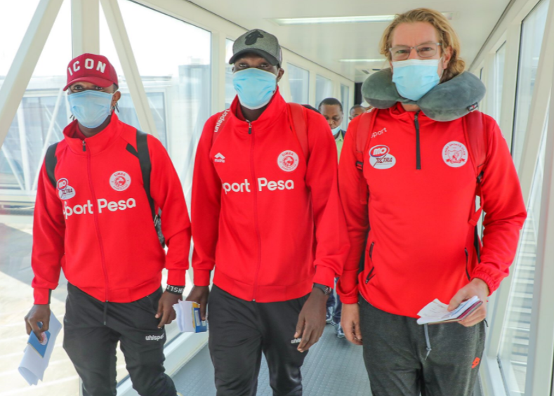 CAFCL : Tanzanian giants, Simba SC arrive Nigeria for clash vs Plateau United