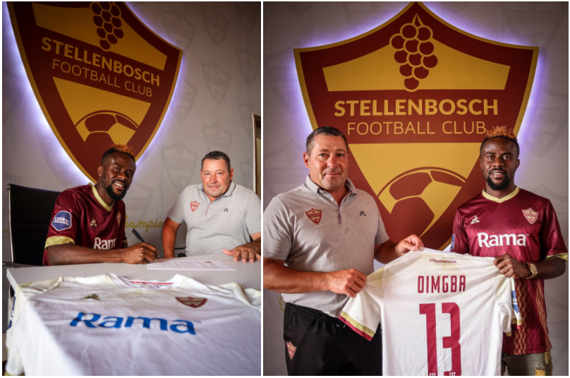 Stanley Dimgba joins PSL side Stellenbosch from Enyimba