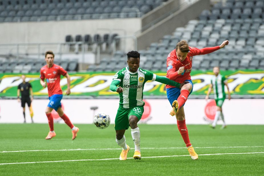 Amoo delighted to score his first brace for Hammarby