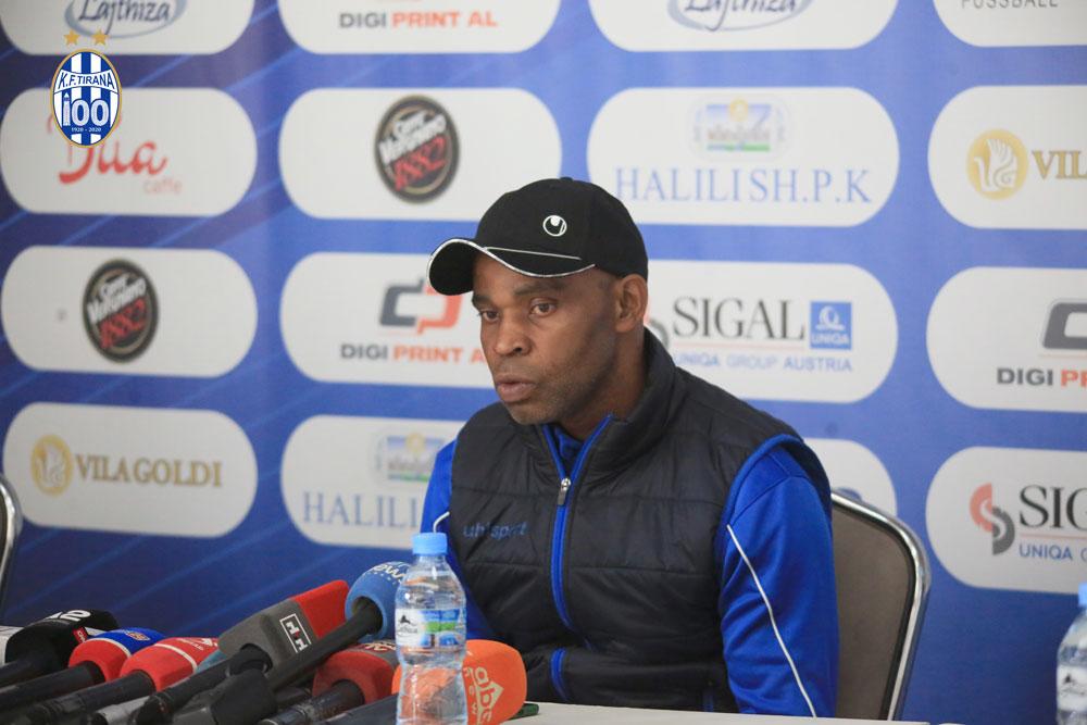 KF Tirana sacks Manager Ndubuisi Egbo