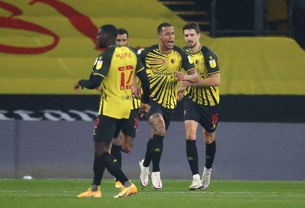 Ekong gunning for Watford's player of the month award