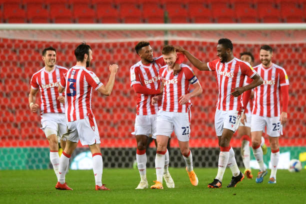 Mikel's Stoke City beat Huddersfield Town in seven-goal thriller
