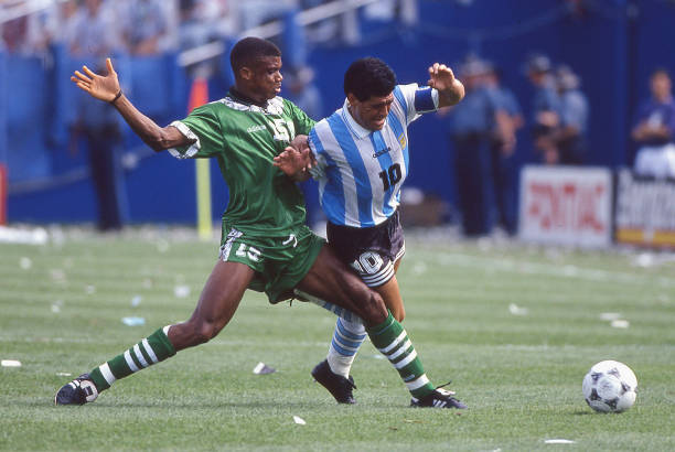 "Diego's Death Pains Me in a Strange Way,"" Oliseh mourns Maradona - Latest  Sports News In Nigeria"