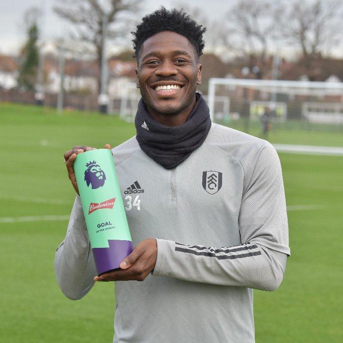 Ekong, Balogun celebrate Aina's premier league goal of the month award