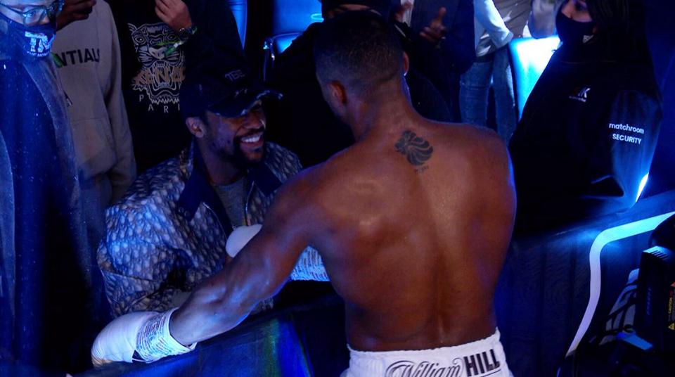 Joshua can beat Tyson Fury – Floyd Mayweather
