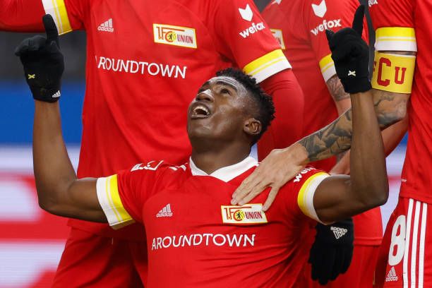 Awoniyi nets second Bundesliga goal of the season for Union Berlin