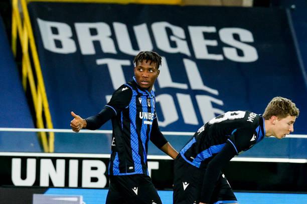 David Okereke hands Club Brugge victory over Sint-Truiden