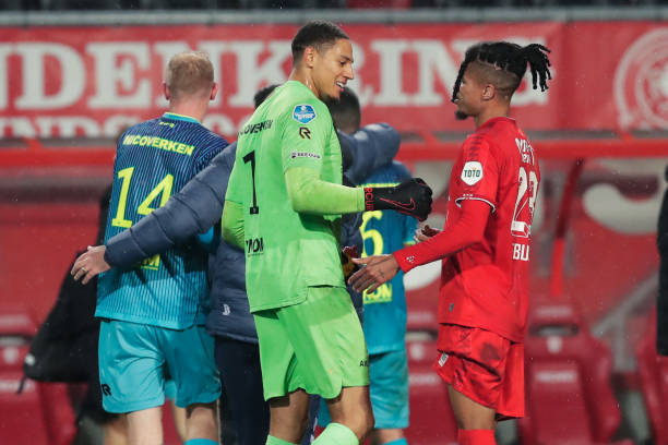 Another Clean Sheet For Okoye In Sparta Rotterdam S Win Over Fc Twente Latest Sports News In Nigeria